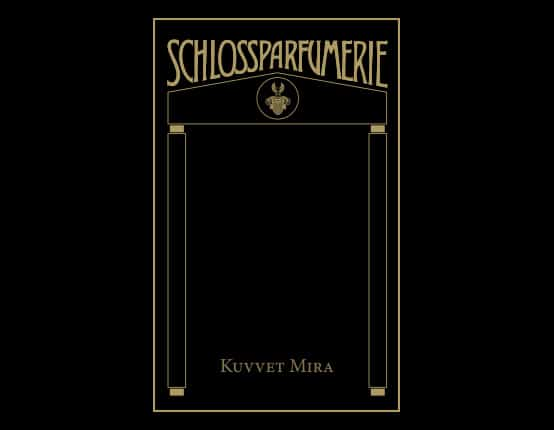 schlossparfumerie signature line packaging design