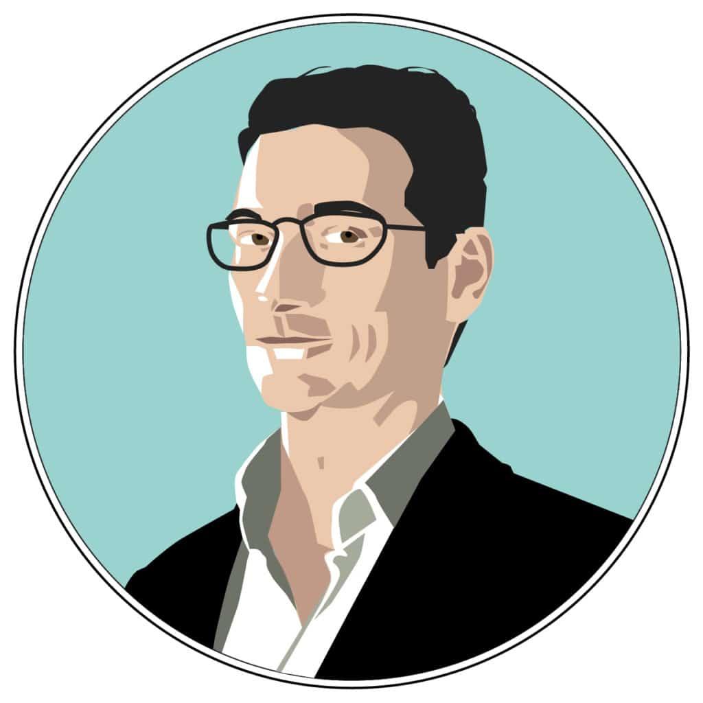porträt philipp wolff illustration