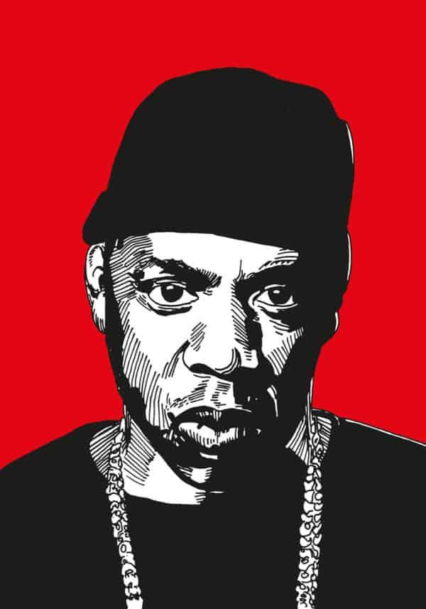 rap poster kunstdruck brooklyn ny