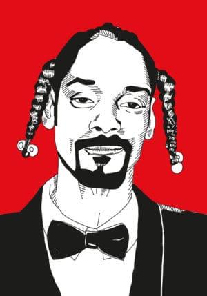 rap poster kunstdruck long beach rapper