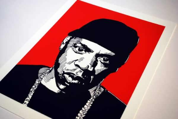 art illustration rapper street art